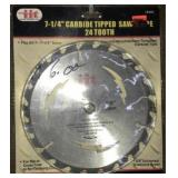 7.25 Carbide Tipped Saw Blade