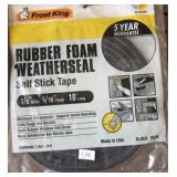 Rubber Foam Weather Seals