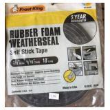 Rubber Foam Weather Seals