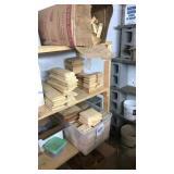 Wood pillar tops & trim pieces