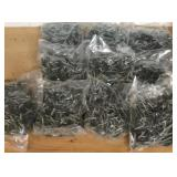 1.5in metal roofing screws- hunter green