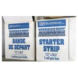 Shingle starter strip