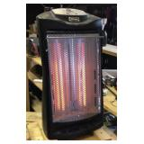 Electric heater black
