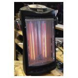 Electric heater black