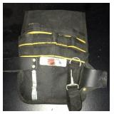 Nylon hammer loop tool pouch