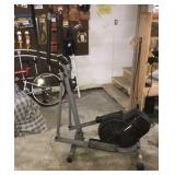 Air elliptical machine