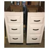Cabinets 3 drawers