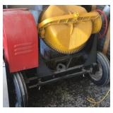 Jaegar Dual-Mix Cement mixer