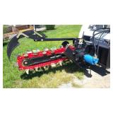 Skid Steer Hydraulic Trencher