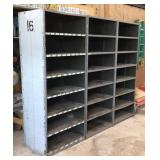 "24"" steel shelving units"