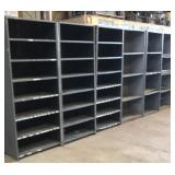 "18"" deep steel shelving units"