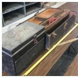 Wooden tool boxes