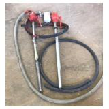 Rotary drum pumps