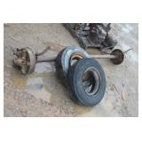 trialer axle & tires