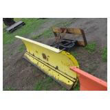 quick attach snow plow