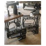 Singer treble leather sewing machines