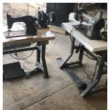 Electric leather sewing machines
