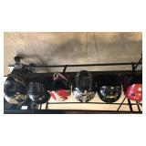 Motorsports helmets