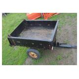 utility dump cart