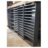 "12"" deep steel shelving units"