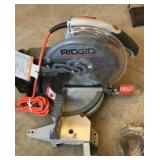 "Ridgid 10"" compound miter saw"