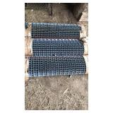 Steel traction grates