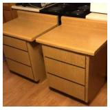 Matching 3 drawer cabinets