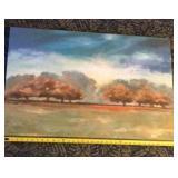 Landscape scene canvas print