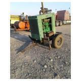 John Deere 4D80 4cyl Diesel Power Unit w/ Trailer