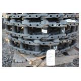 (2) Unused John Deere 120 Excavator Track Rails