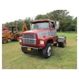 *OFFSITE 1987 Ford L8000 S/A Daycab Truck