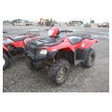 2013 Honda Foreman Rubicon 500 4x4 ATV