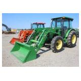 John Deere 5101E 4x4 Cab Tractor w/ Loader