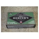 (40) Rds of Herters 6.5 Ammo