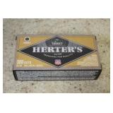 (100) Rds of Herters 380 Auto Ammo
