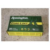 (20) Rds of Remington 30-06 Ammo