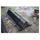 "Unused 72"" Skid Steer Rock Bucket"