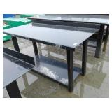 "29.5"" x 60"" Steel Work Bench w/ Shelf"