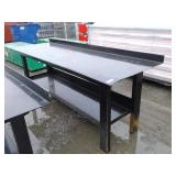 "29.5"" x 90"" Steel Work Bench w/ Shelf"