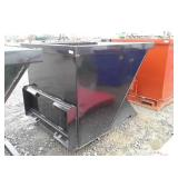 2 Cubic Yard Skid Steer Trash Hoppers