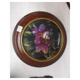 "Framed 8"" Plate Good Morning Miss Ladybug"