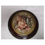 Dearest Kiss Numbered Collector Plate