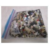 Large Zip Lock Bag Of Buttons