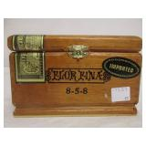 Flor Fina Wooden Cigar Box