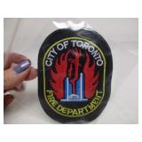 City Of Toronto Fire Department Badge