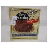 Never Opened Fluffy Frosting Vintage