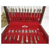 Air Canada Silver Plated Flatware in Box