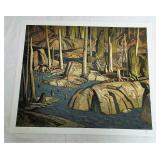 Backwater A.J Casson Print # 268/500 Unframed