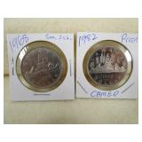 1968 dollar - sm island variety & Circ 1982 Proof