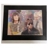 Rolling Stones Print Ready To Frame 16 x 20""